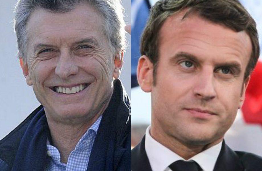 ¡Ay diosito de los desamparados, que a Macrín le suceda lo que le sucedió a Macron, y seremos felices!