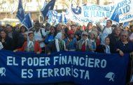Marcha de las Madres con los operarios de PepsiCo, críticas a la CGT y reclamo de paro general