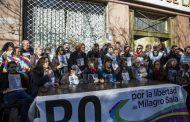 """Libertad a Milagro Sala: """"Si hay presos políticos no hay democracia"""""""