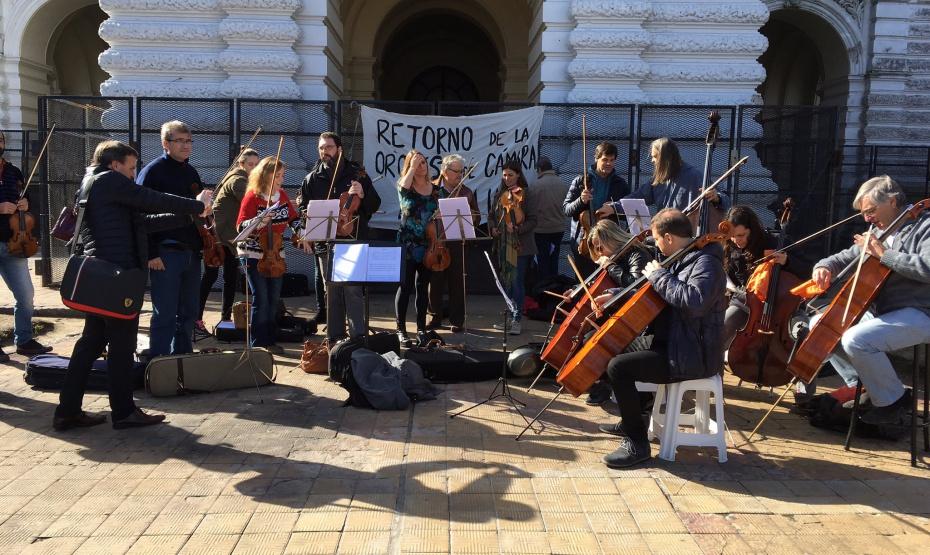 La UNLP reconoce la importante trayectoria de la Orquesta de Cámara vapuleada por Julio Garro