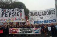 Otra vez la policía de Cambiemos reprime a los trabajadores de PepsiCo que reclaman por sus derechos
