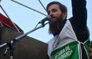 Atacaron al secretario de Derechos Humanos de ATE Capital tras exigir la aparición con vida de Santiago Maldonado