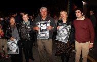 Florencia: Presente en la vigilia a 24 años de la desaparición de Miguel Bru