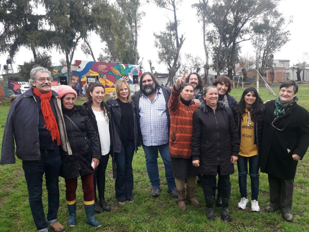 """""""Florencia fue ganando un espacio político muy importante por su representación social"""", dicen desde el Frente Carlos Cajade"""
