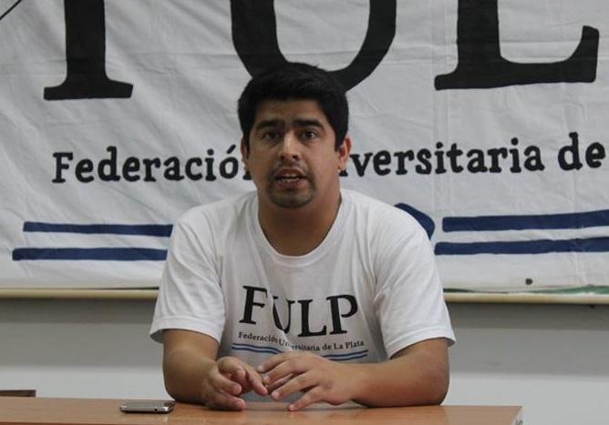 """Presidente de la FULP: """"Apoyamos rotundamente a Florencia, es una candidata clave contra el ajuste en la educación pública"""""""
