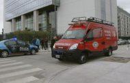 Explotó un sobre bomba en la empresa encargada del escrutinio de las PASO y dos personas resultaron heridas
