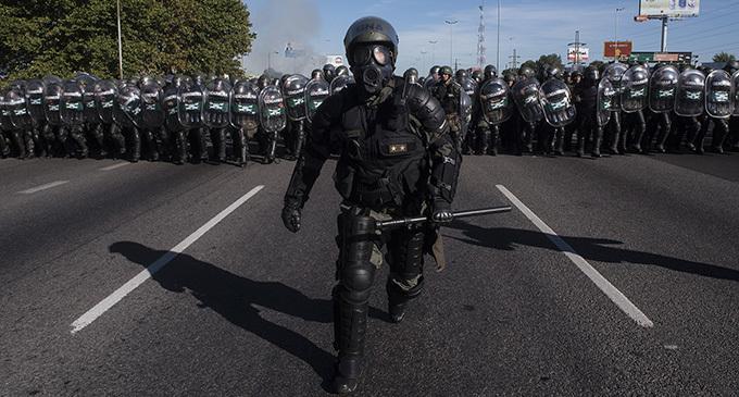 Macri no inventó al eje represivo Policía porteña – Bonaerense – Gendarmería, pero le da rienda suelta y lo perfecciona