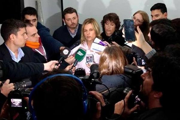 """Florencia: """"A un gobierno nefasto como este, se le responde con más democracia, más votos y más derechos"""""""