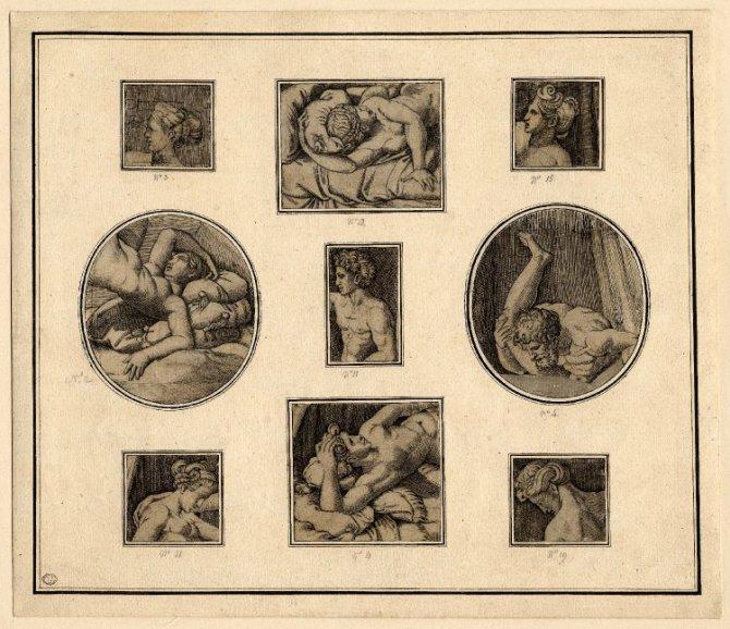 """En 1524 el papa Clemente VII le daba candela, fuego y a """"todo gas"""", a la obra erótica de un discípulo del renacentista Rafael"""