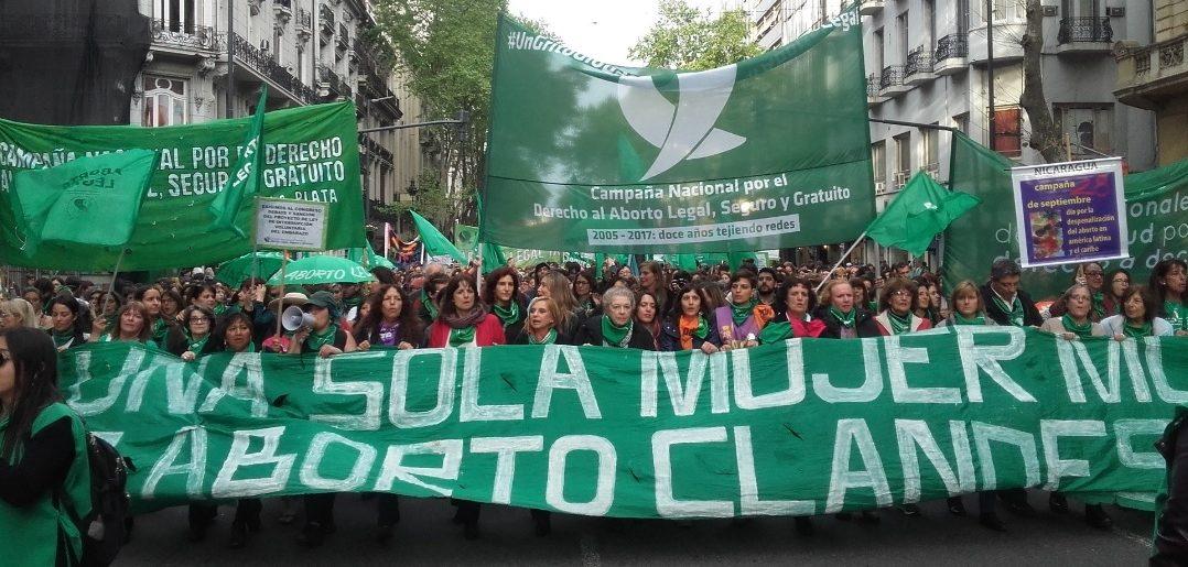 Sin libertad para las mujeres para un aborto legal, seguro y gratuito los Derechos Humanos seguirán rengos