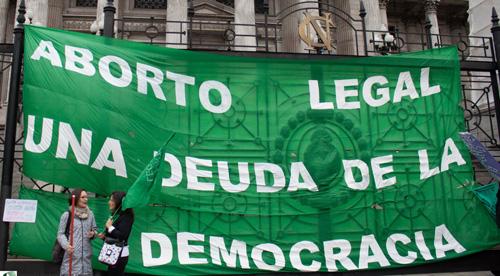 """""""#AbortoLegal #UnGritoGlobal"""": para que oigan las fuerzas más retrógradas del país"""