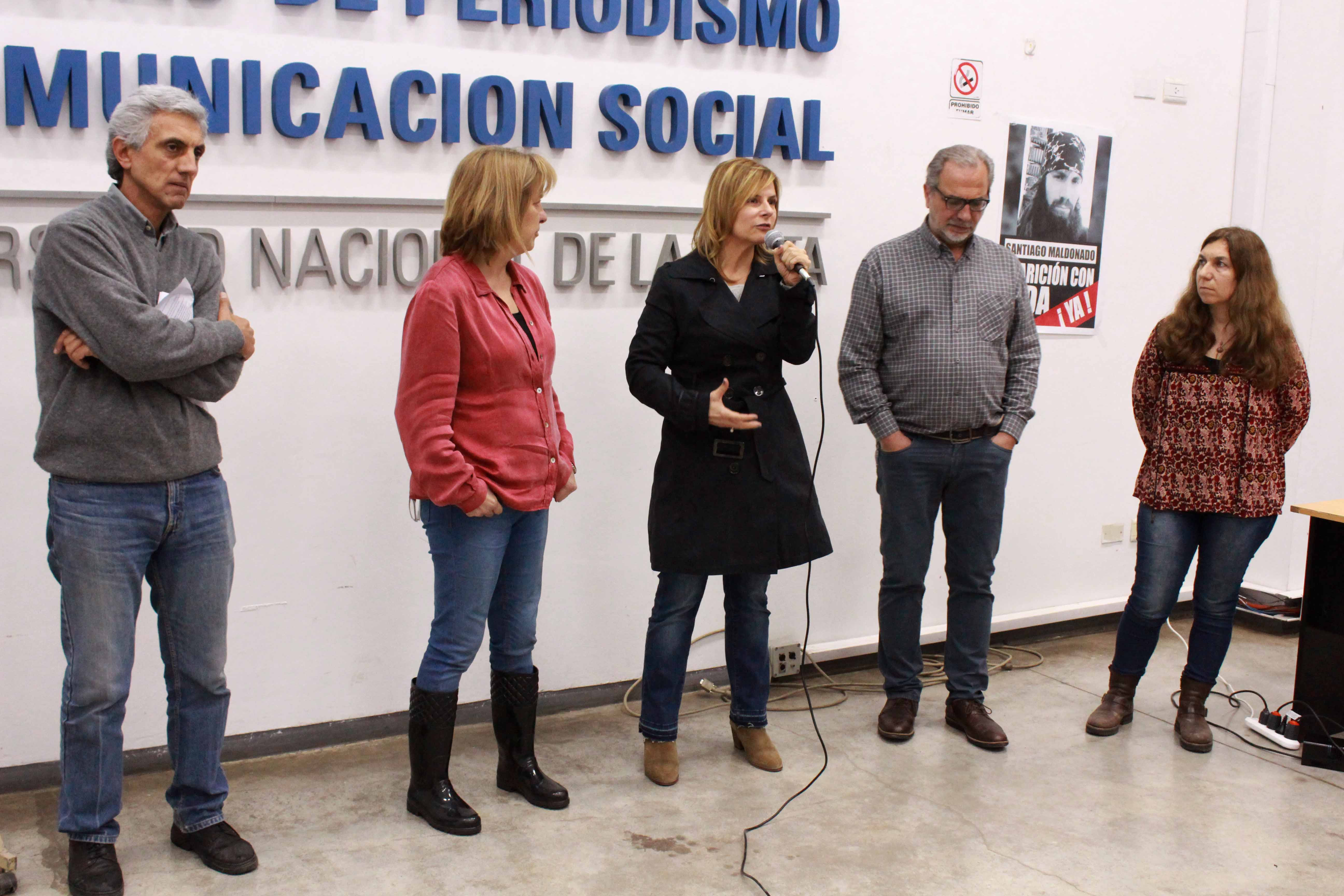 """Florencia llama a los platenses a dar pelea por el """"derecho a la ciudad"""" y contra """"la injusticia urbana"""""""