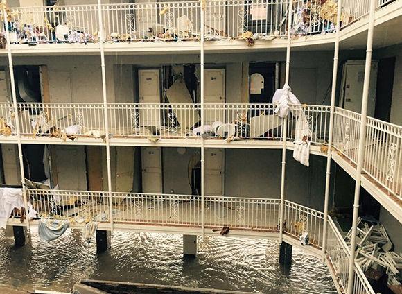 Mientras el ciclón más fuerte de la historia del Atlántico arrasaba en el Caribe, acá C5N y TN  se preocupaban por Miami