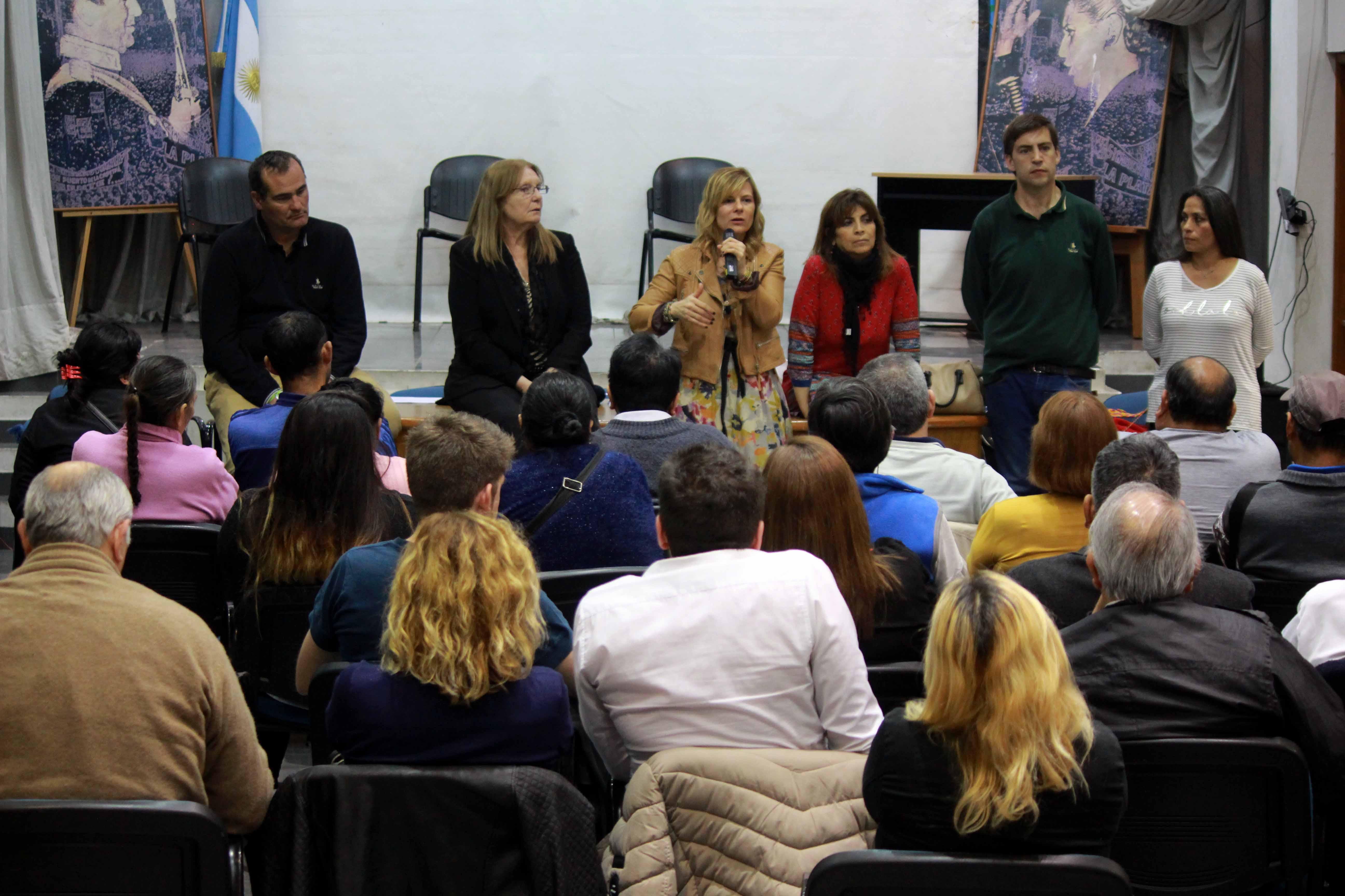 """Florencia y su compromiso con los """"compatriotas de la Patria Grande"""", para oponerse a toda forma de xenofobia"""