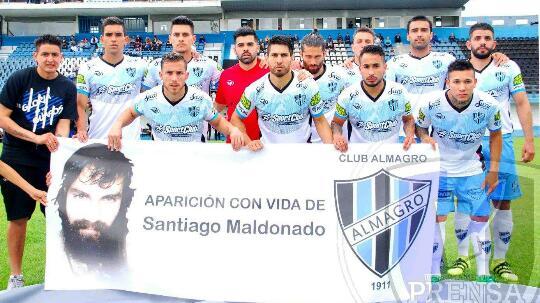 ¡No jodan! La bronca por Santiago Maldonado en Almagro fue más importante que las lágrimas catalanas de Pique