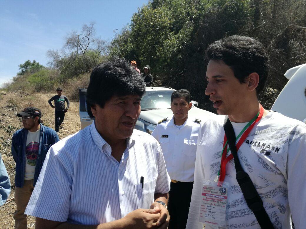 """Evo Morales: """"Las ideas del Che están más vigentes que nunca"""""""