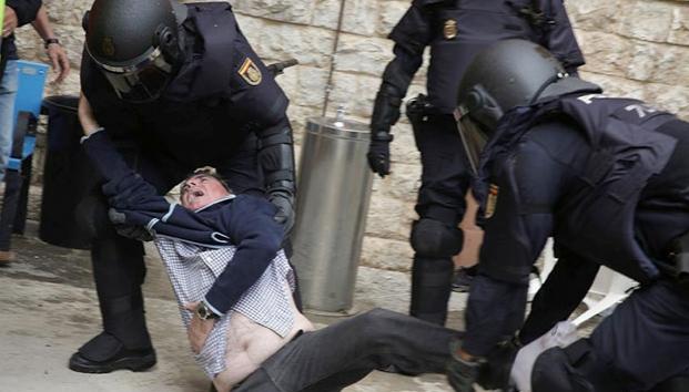 La cana es la cana, acá y en Marte; y en España o Cataluña, ni hablar, mientras Rajoy a lo Macri, dale peguen nomás