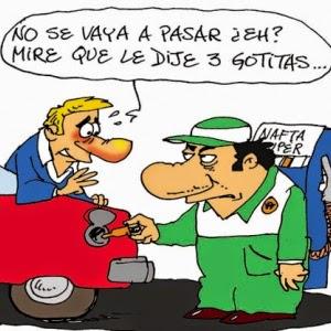 ¡Argentinos, a joderse! Cuando las urnas avalan el ajuste, este no se hace esperar: 12 por ciento más  ya para los combustibles