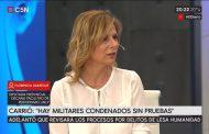 Florencia Saintout le puso los puntos a la provocadora profesional Elisa Carrió