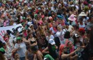 """""""Hagamos concha el patriarcado; la revolución será feminista o no será"""", clamaron en las calles de Resistencia"""