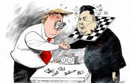 """Para Trump que lo mira por TV: Kim Jong-un quiere que Estados Unidos caiga bajo los efecto del """"Veneno del Diablo"""""""
