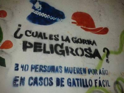 Argentina: donde matan a tiros a un pibe por día y la Federal y Gendarmería meten palo y rejas a niños y adolescentes