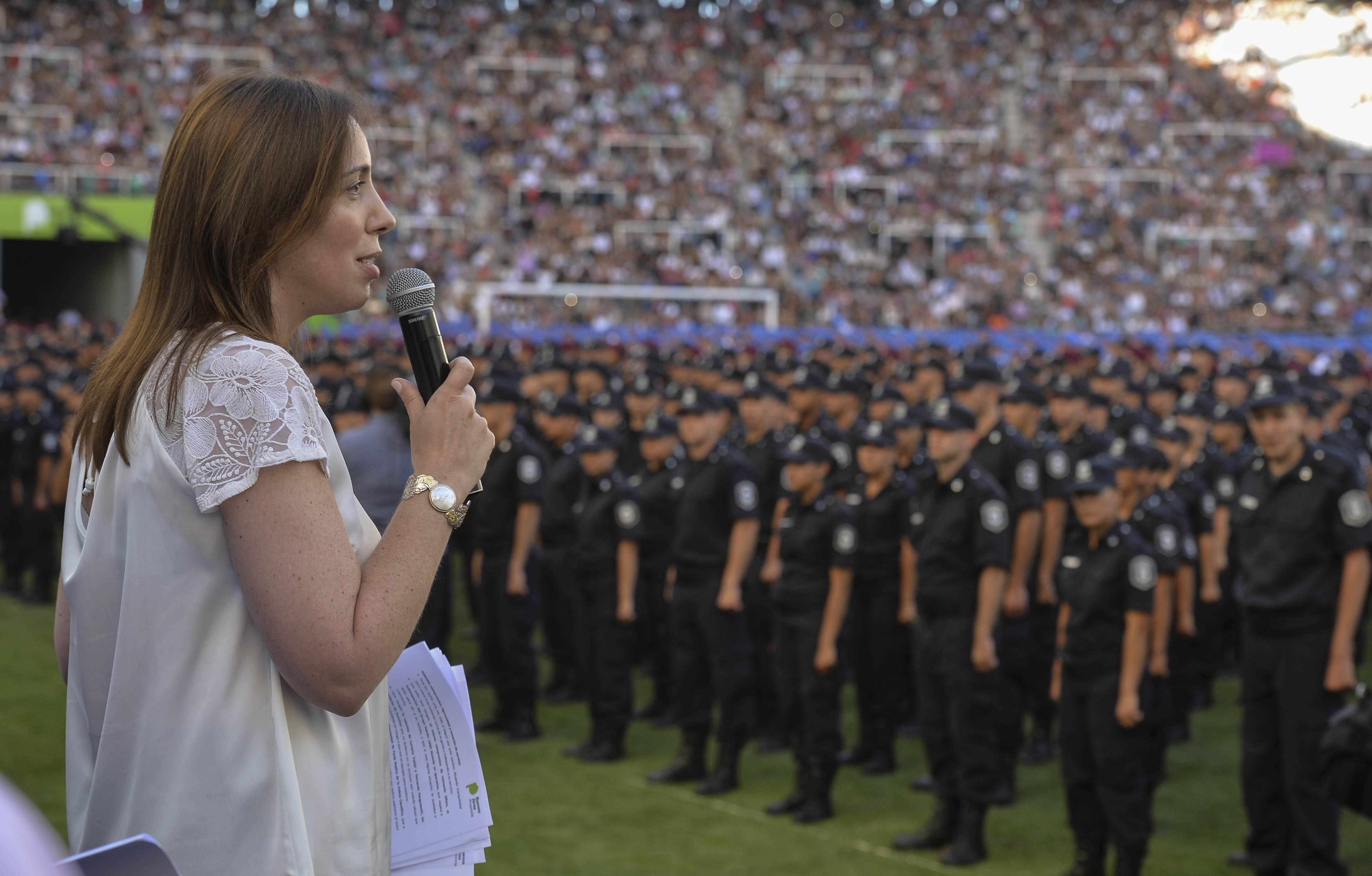 María Eugenia Vidal propone más restricciones para los privados de su libertad y sus legisladores actúan