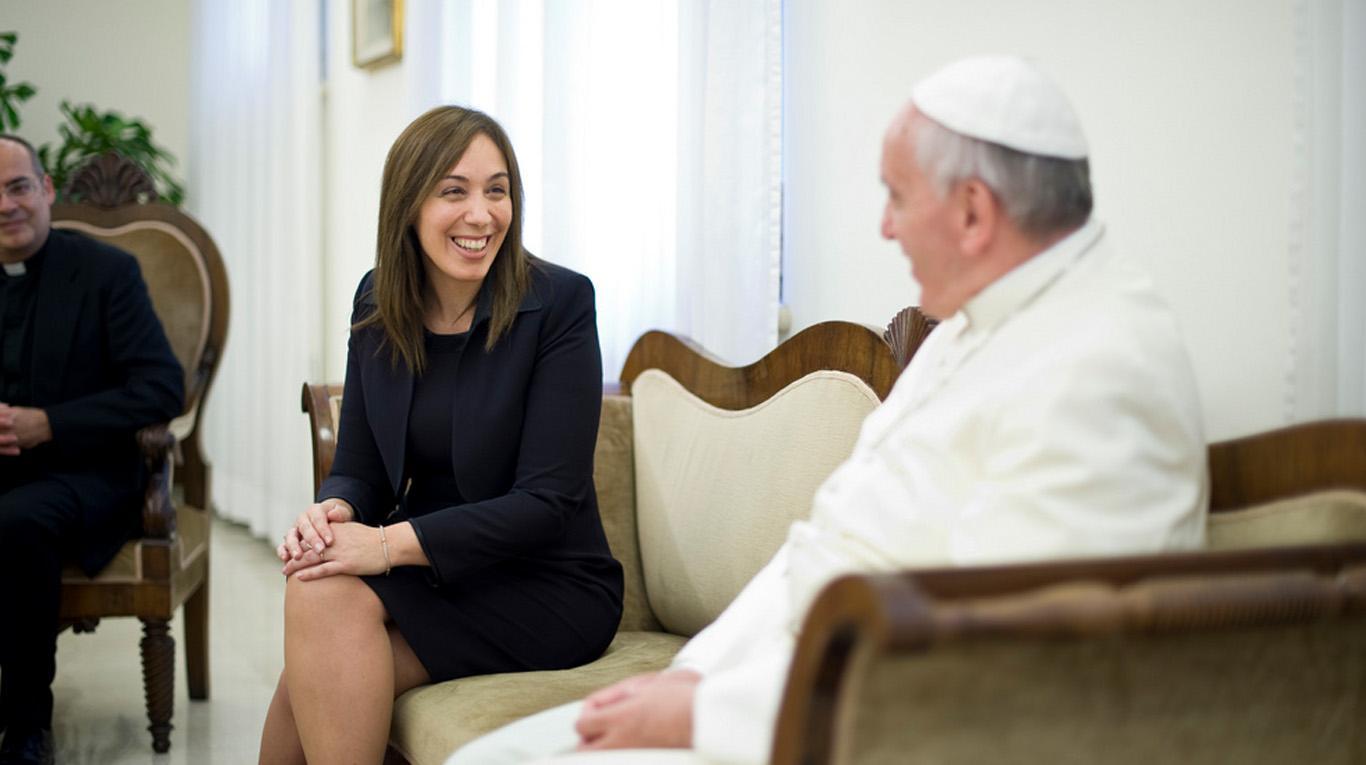 La derecha quiere consolidar su poder político en la provincia de Bs.As. con guita y bendiciones papales para Vidal