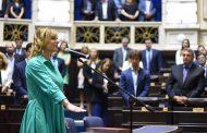 Saintout asumió un desafío clave para bonaerenses y argentinos: ser la líder de la oposición a María Eugenia Vidal
