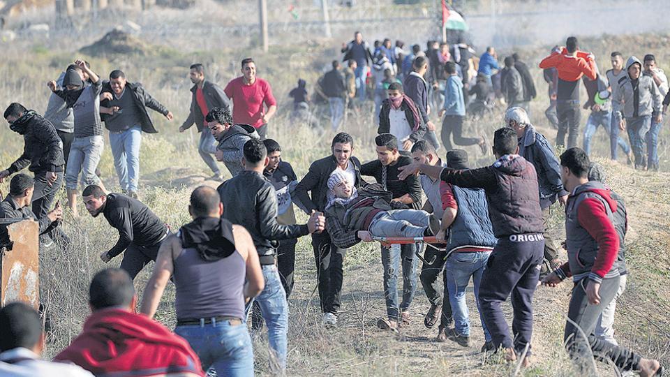 La furia del pueblo palestino en Intifada contra la provocación de EE.UU y las acciones armadas de Israel