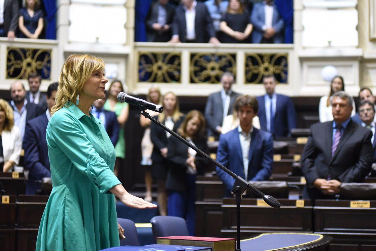 Que Florencia Saintout presida el bloque mayoritario de la oposición en Diputados es toda una señal de intransigencia