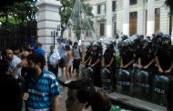 """""""No es posible sesionar en medio de una situación de violencia y represión"""""""