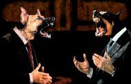 Macri es el jefe de una entente de oligarcas de estirpe, sirvientes todo terreno y perros rabiosos con cascos y uniformes