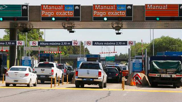 Al tarifazo en el transporte público se le suma un fuerte aumento en los peajes