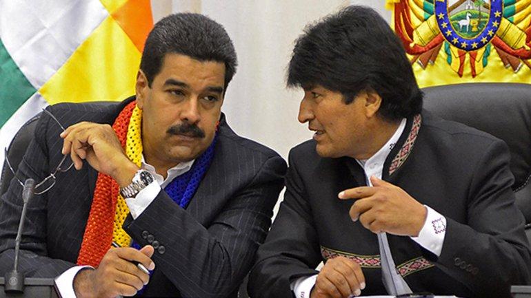 """Evo Morales repudió que los países del Grupo Lima """"se presten a plan golpista de EE.UU."""" contra Venezuela"""