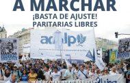 Los docentes universitarios de La Plata marcharán el miércoles a Plaza de Mayo