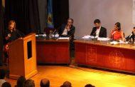 """""""Que el aumento en la tarifa del Agua lo pague la gobernadora, no los trabajadores"""", dijo Florencia Saintout"""