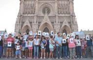 """Luján se movilizó por Lucía Haach y acusó de """"indiferencia"""" a Vidal, a la Justicia y al intendente Luciani"""