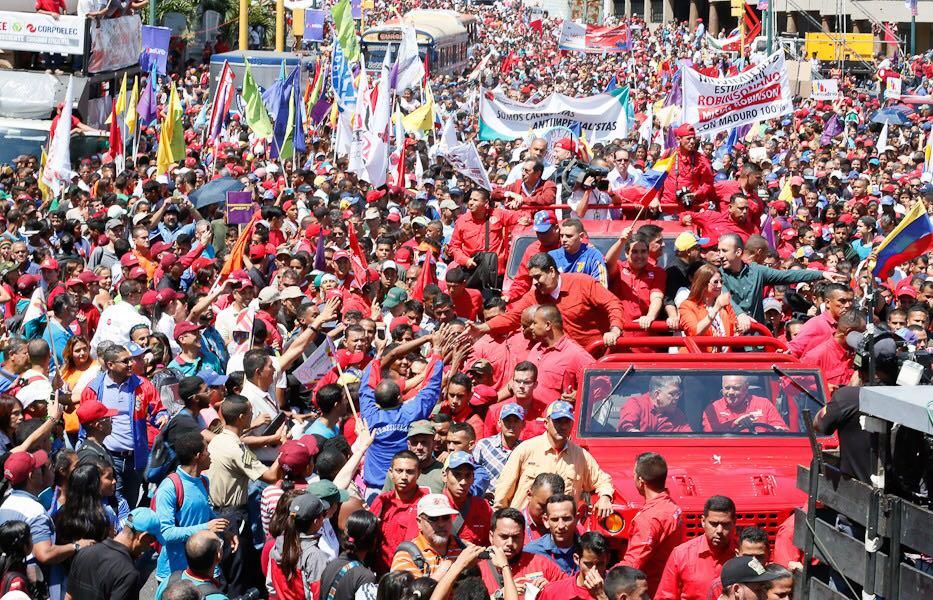 Seis candidatos se inscribieron para las elecciones presidenciales en Venezuela