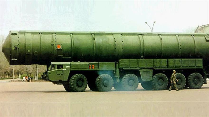 El diario británico Daily Mail sostuvo que China podría lanzar un misil con ojiva nuclear sobre EE.UU