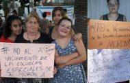 Denuncian en Morón vaciamiento y despidos en escuelas para niños sordos y con discapacidad intelectual