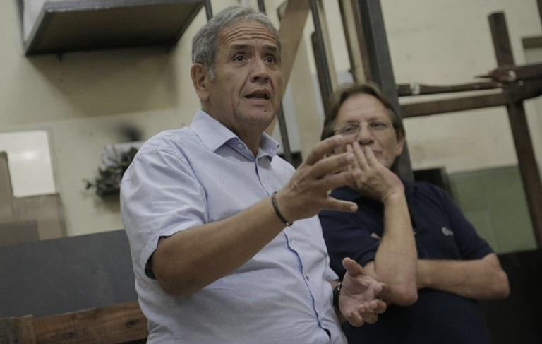 """Sergio Palazzo: """"Con los trabajadores unidos no se jode"""""""