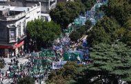 Masiva movilización de estatales para repudiar las políticas de ajuste impulsadas por  Vidal