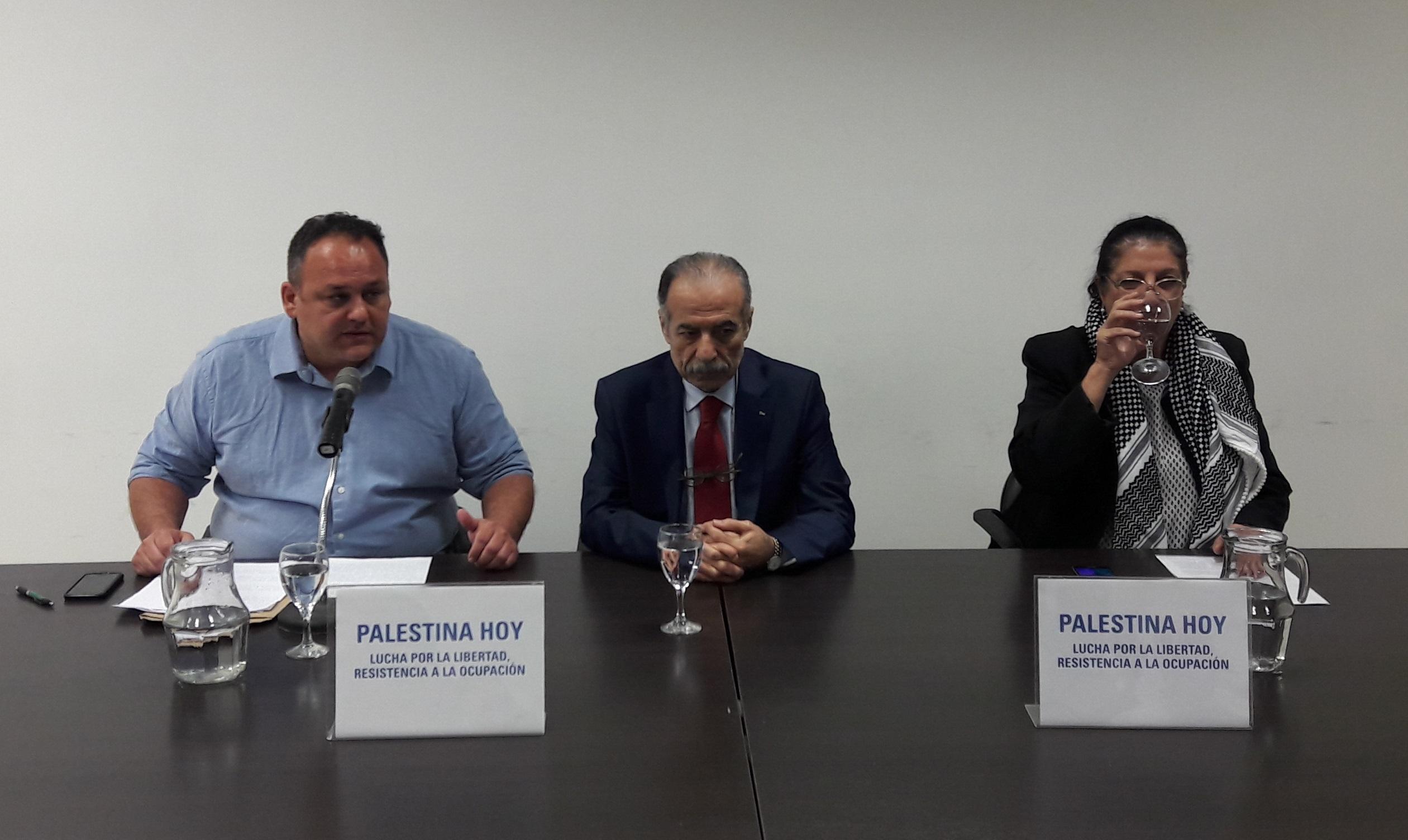 """Para el embajador de Palestina en Argentina, Isis y la política militarista de Israel """"están al servicio"""" de Estados Unidos"""