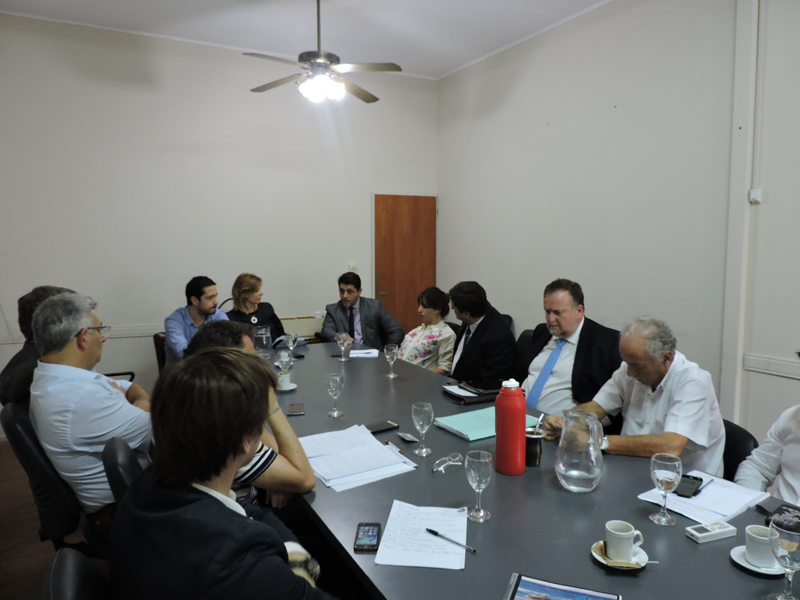Saintout y otros legisladores kirchneristas analizaron con juristas los proyectos de reforma judicial de Vidal