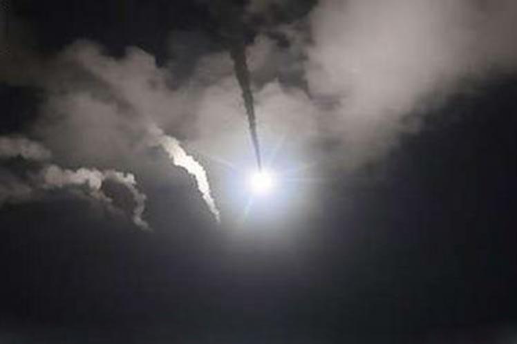 Israel se sumó a la agresión de EE.UU., Gran Bretaña y Francia pero Siria derriba sus misiles