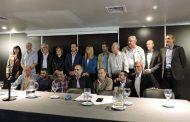 """""""Acompañamos a los intendentes en la presentación de un proyecto para modificar la Ley de Coparticipación"""", expresó Saintout"""