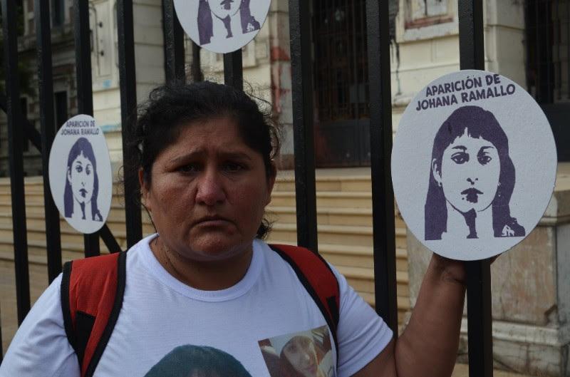 """La mamá de Johana Ramallo acusa de """"proxenetas"""" a la gobernadora Vidal y al intendente Garro"""