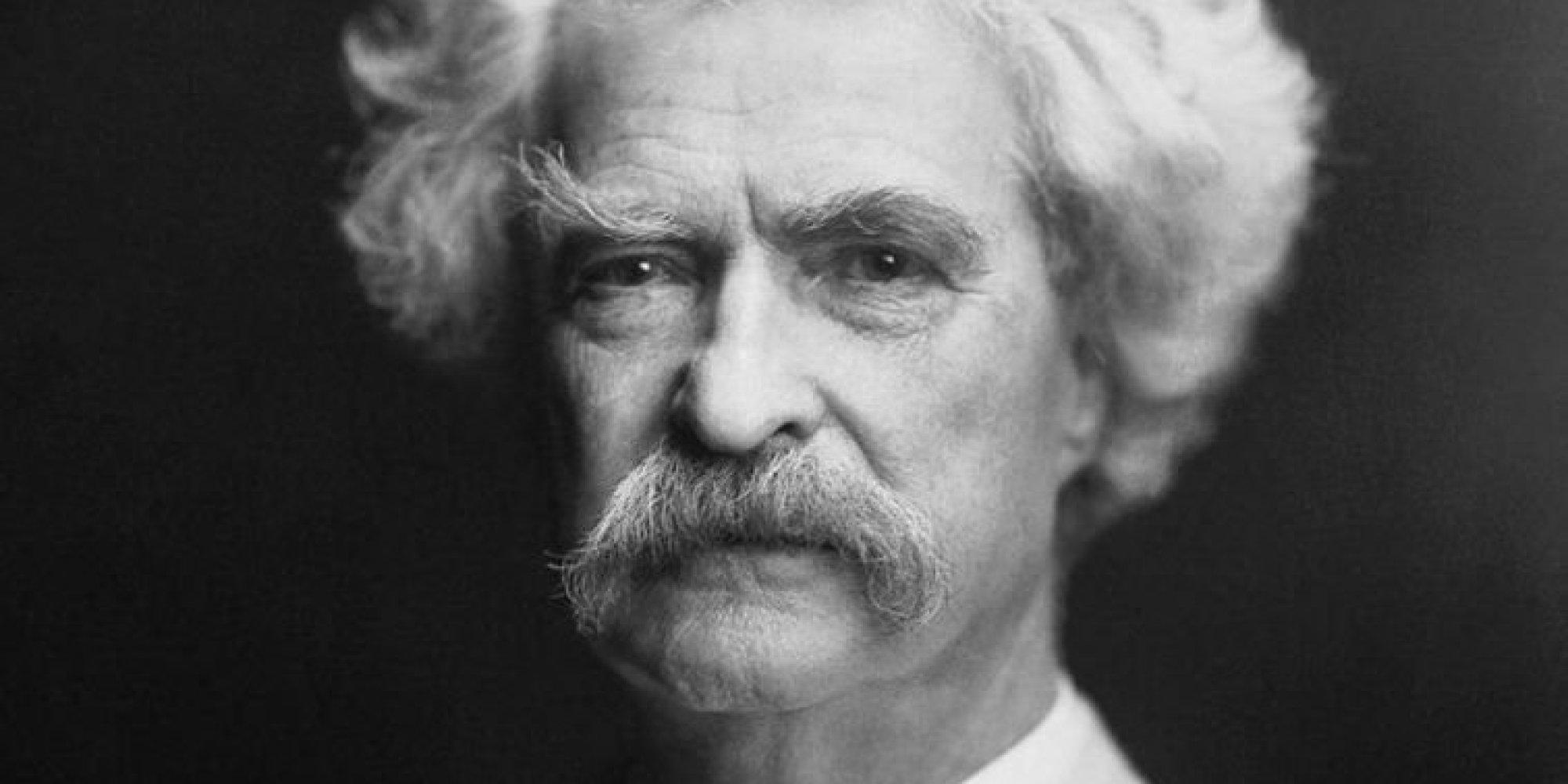Mark Twain llegó y se fue con el cometa Halley y nunca supo si era él o su hermano gemelo