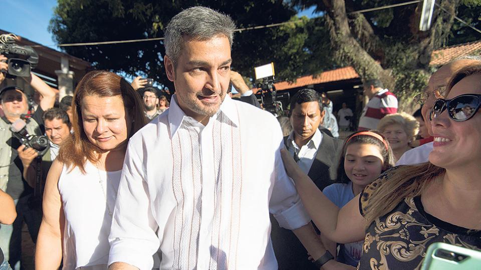 Estrecho fue el margen en la victoria de nuevo presidente paraguayo